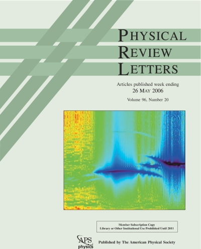 APS- Physical Review Letters 2004- 2006