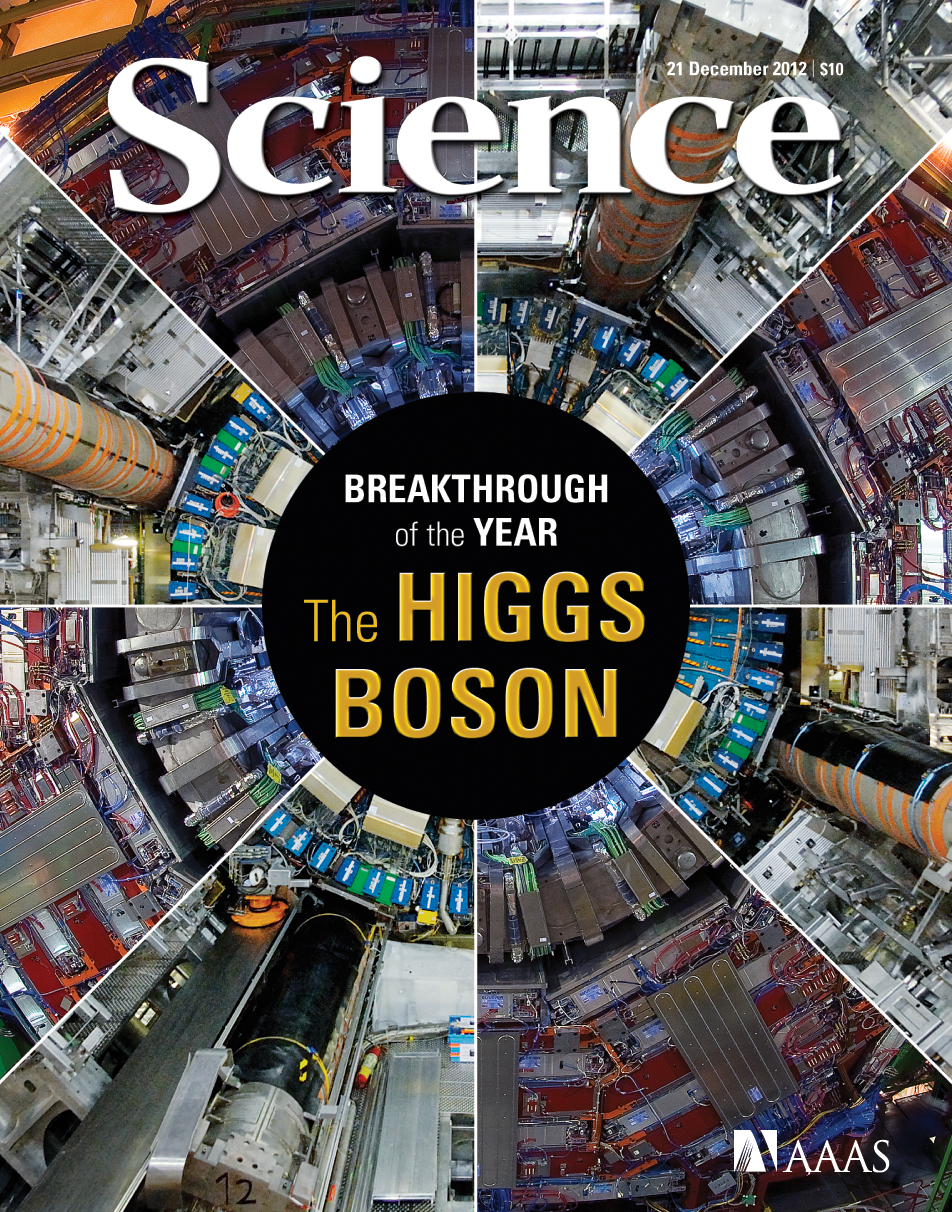 science magazine breakthroughs higgs breakthrough collider hadron lab contributes nersc crd scientific journal gov results lbl aaas publications boson sciencemag