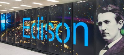 Edison is NERSC's newest supercomputer, a Cray XC30, with a peak performance of