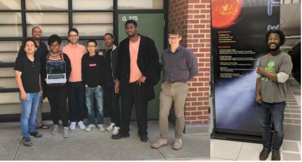 Group photo of Laney Supercomputing Club.