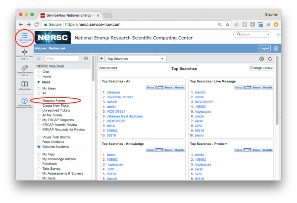 The NERSC Allocation Request Form (ERCAP)